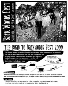 Backwoods Fest 2000