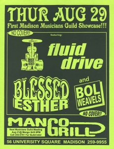 Fluid Drive at the Mango Grill