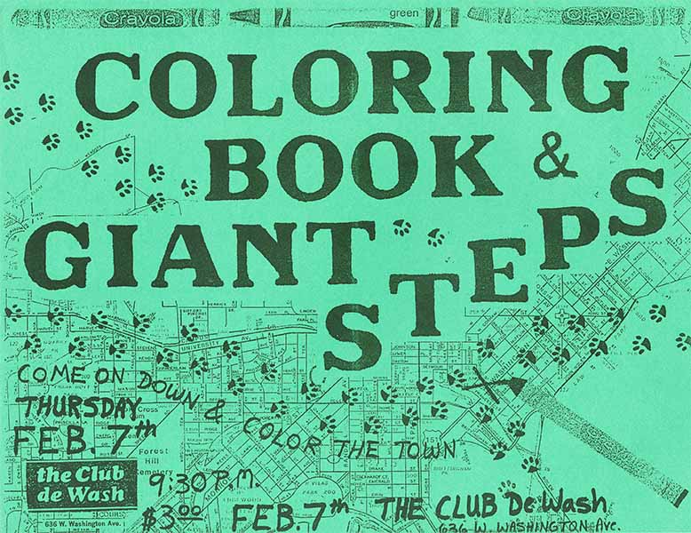 Giant Steps at Club de Wash