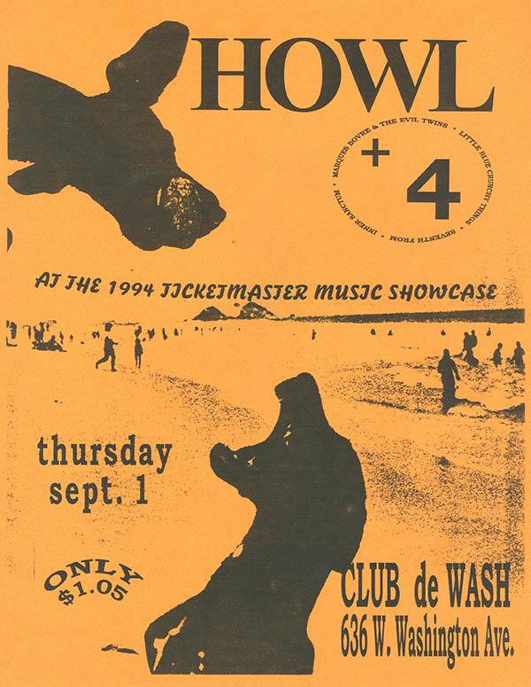 Howl at Club de Wash