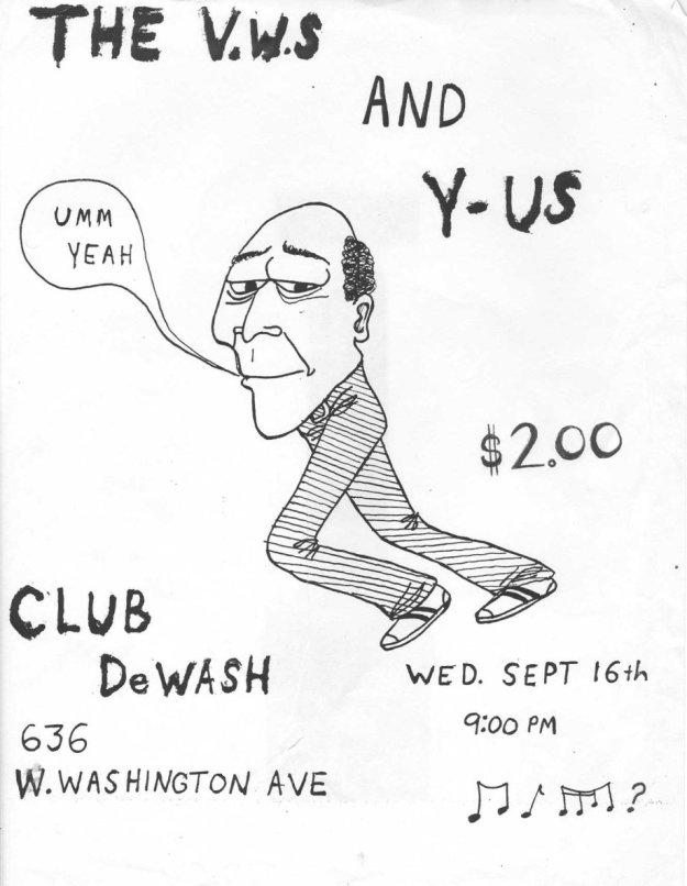 Y-Us at Club de Wash