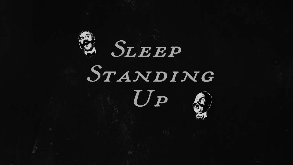 Sleep Standing Up 1